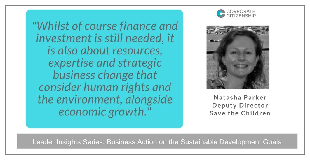 Natasha Parker Business Action on the SDGs