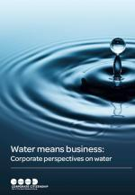 Water paper front cover